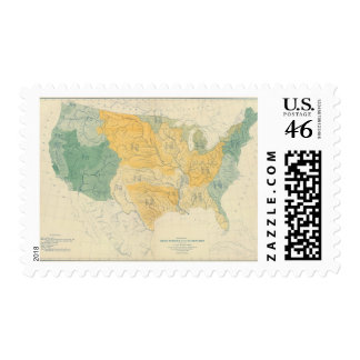 River Systems in the US Stamps