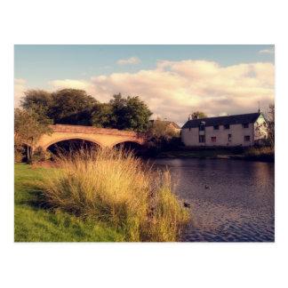 River Teith at Callander Postcard