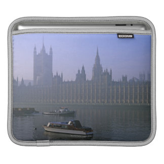 River Thames and Houses iPad Sleeve