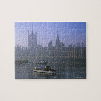 River Thames and Houses Jigsaw Puzzle