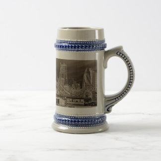 River Thames Art Coffee Mugs