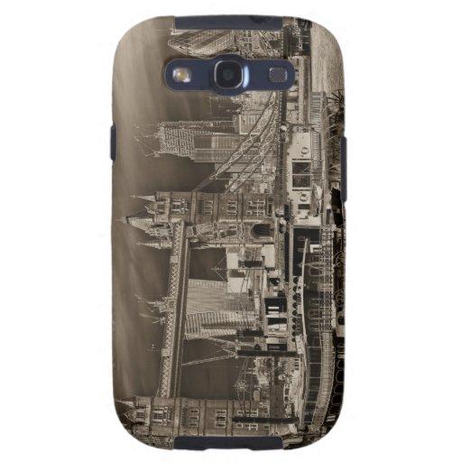 River Thames Art Samsung Galaxy SIII Cases
