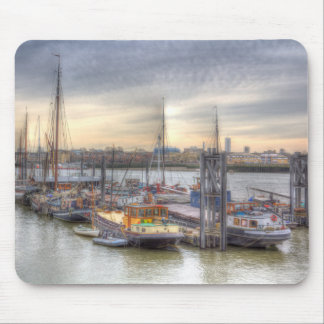 River Thames Boat Community Mouse Pad