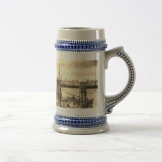 River Thames Boat Community Coffee Mugs