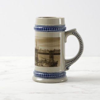River Thames Boat Community Mug