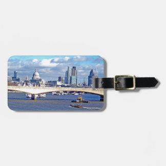 River Thames Travel Bag Tag