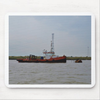 River Thames Tug Boat Mouse Pad