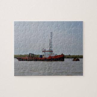 River Thames Tug Boat Jigsaw Puzzles