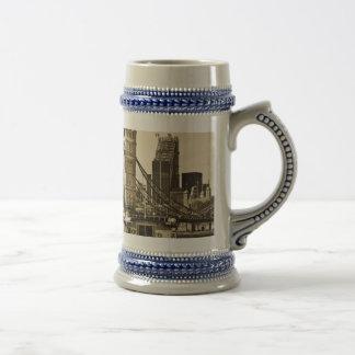 River Thames View Coffee Mugs