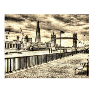 River Thames View Postcard