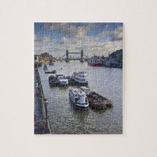 River Thames view Jigsaw Puzzle