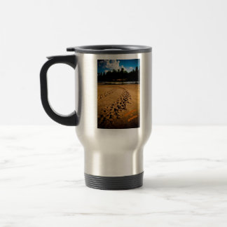 """River Tracks"" Travel Mug"