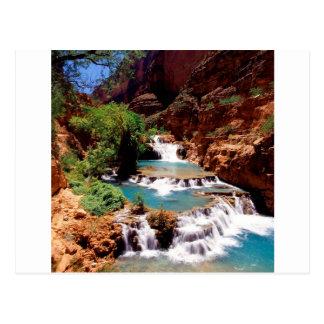 River Travertine Pools Havasu Canyon Postcard