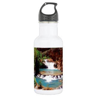 River Travertine Pools Havasu Canyon Water Bottle