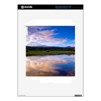 River Trout Lake Mount Adams Skin For The iPad 2