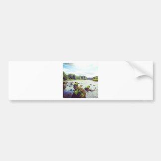 River Tweed Car Bumper Sticker