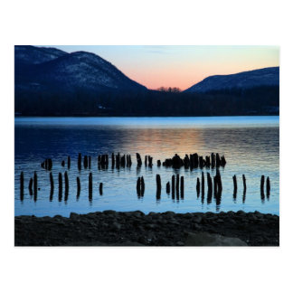 River Twilight Postcard