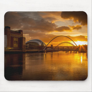River Tyne at Sunset Mouse Pad