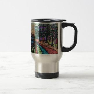 River Tyne Newcastle Quayside Travel Mug