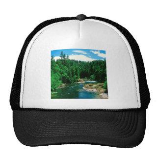 River Umpqua Douglas County Oregon Mesh Hats