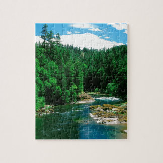 River Umpqua Douglas County Oregon Jigsaw Puzzles