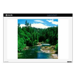 """River Umpqua Douglas County Oregon 17"""" Laptop Skins"""