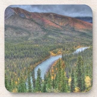 River Valley Illusion Beverage Coaster