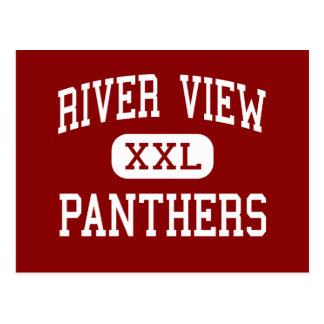 River View - Panthers - High - Kennewick Postcard