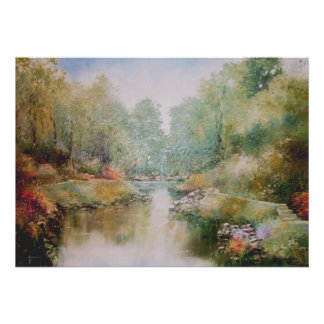River Walk Painting Invitation