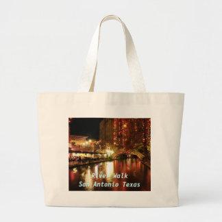 River Walk San Antonio Texas Jumbo Tote Bag