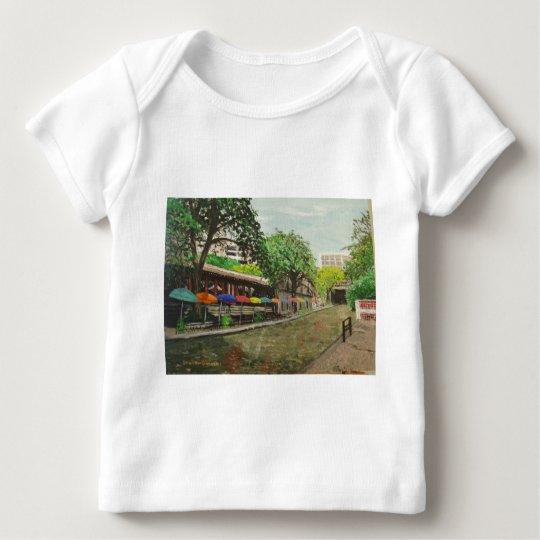 River Walk San Antonio, TX Painting Baby T-Shirt