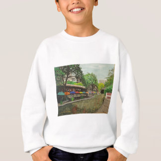 River Walk San Antonio, TX Painting Sweatshirt
