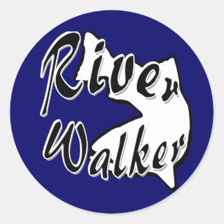 RIVER WALKER CLASSIC ROUND STICKER