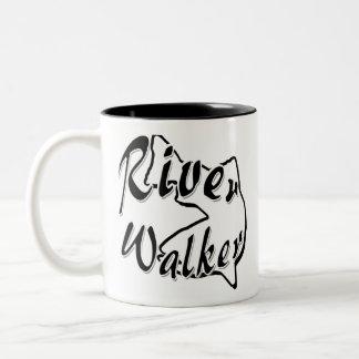 RIVER WALKER Two-Tone COFFEE MUG