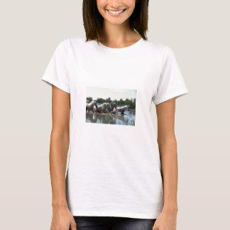 River Walking Horses T-Shirt