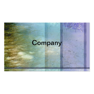 River Water Profile Card Business Card