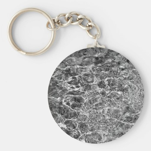 River Water Ripples Basic Round Button Keychain