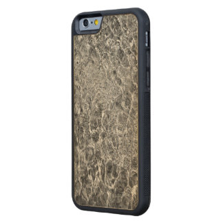 River Water Ripples Carved Maple iPhone 6 Bumper Case