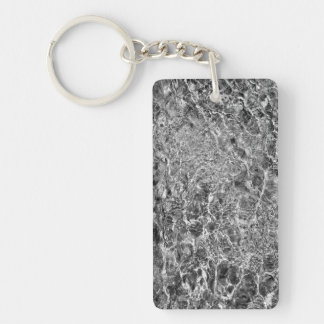 River Water Ripples Keychain