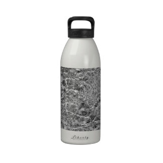 River Water Ripples Reusable Water Bottle