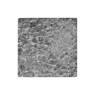 River Water Ripples Stone Magnet