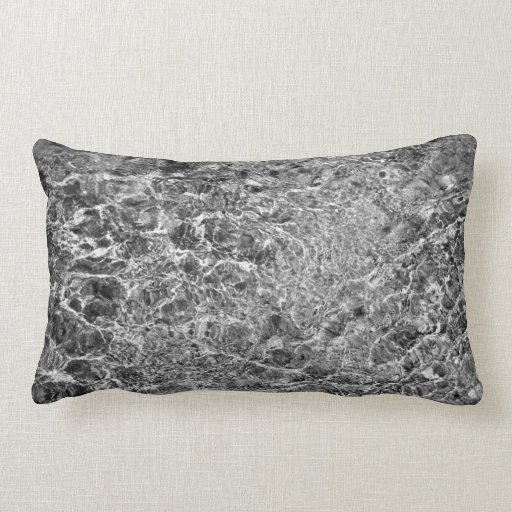 River Water Ripples Throw Pillow