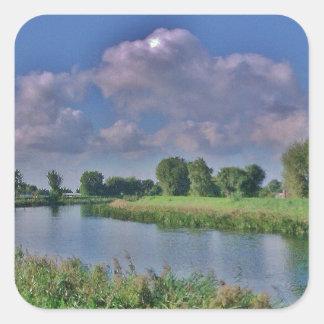 River Welland Square Sticker