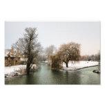 River Welland Winter Art Photo
