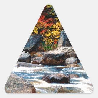 River White New Hampshire Triangle Sticker