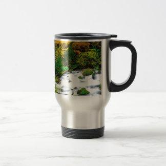 River Willamette Forest In Autumn Oregon Coffee Mugs
