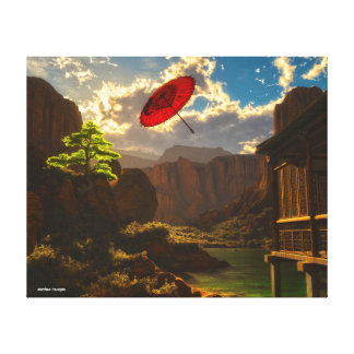 River Wind Canvas Print