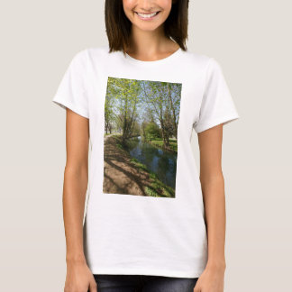 River with trees in spring T-Shirt