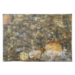 River-Worn Pebbles Brown and Grey Natural Abstract Placemat