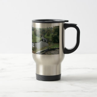 River Wye at Haddon Hall 15 Oz Stainless Steel Travel Mug